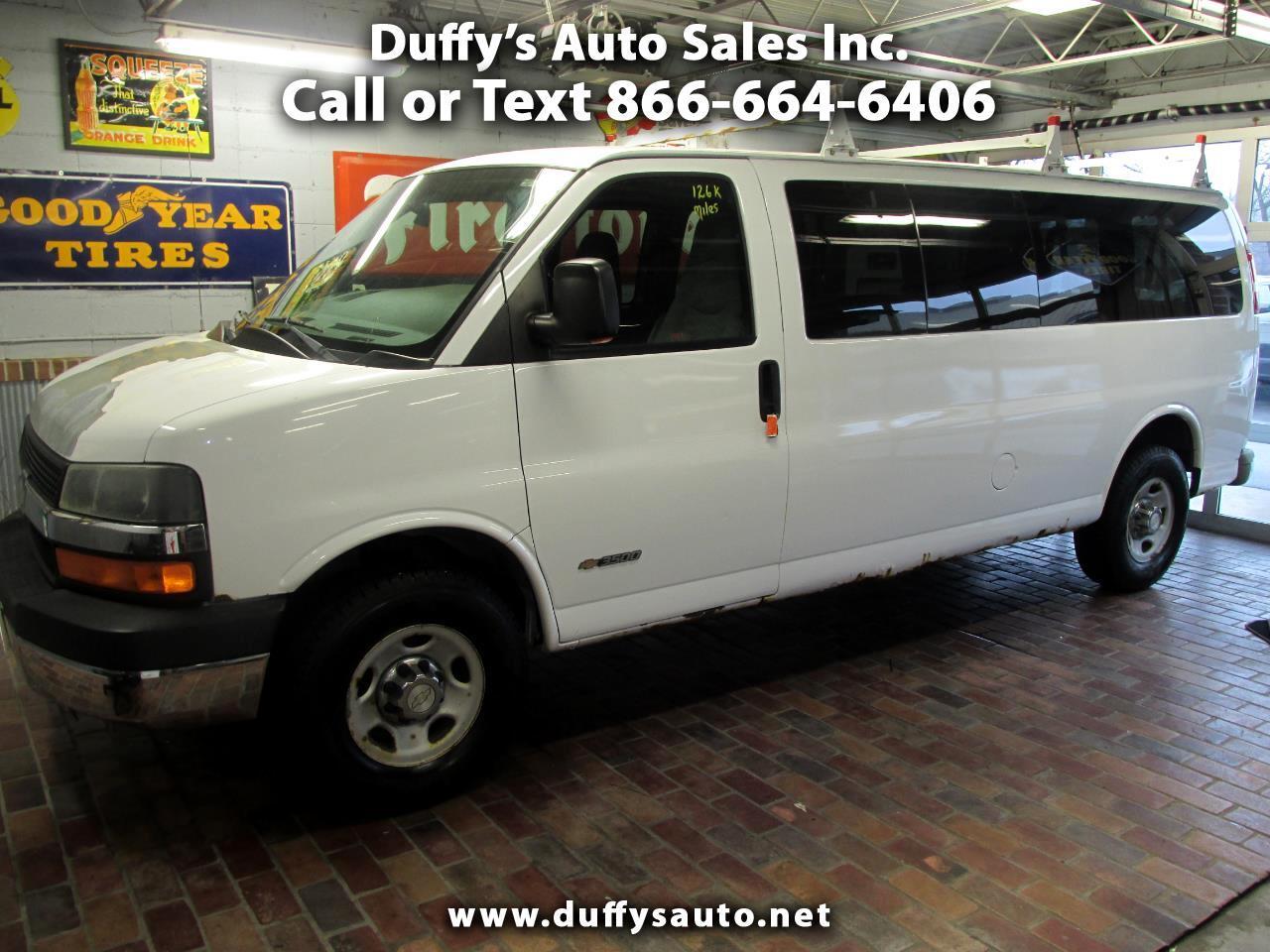 "2006 Chevrolet Express Passenger 3500 155"" WB RWD"