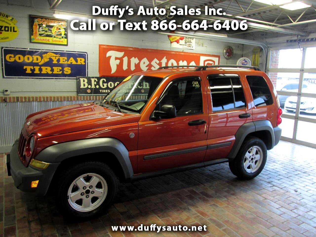 2005 Jeep Liberty 4dr Sport 4WD