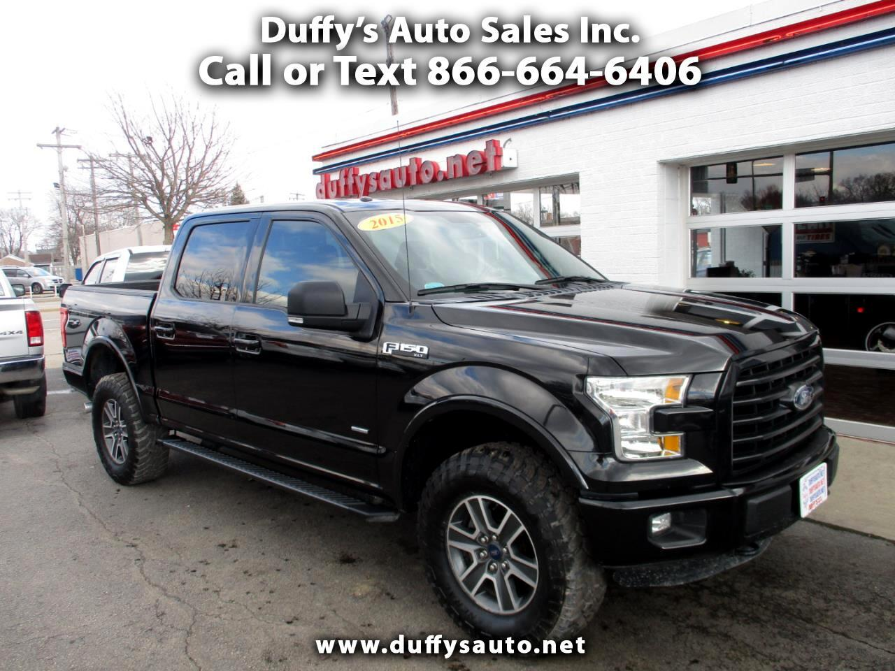 2015 Ford F-150 4WD SuperCrew Sport