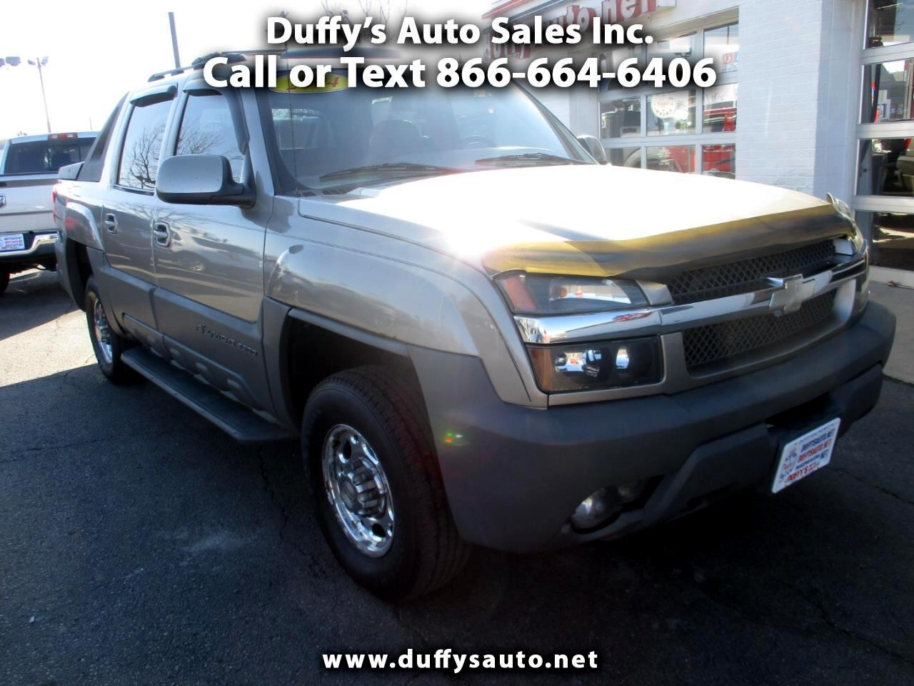 """2002 Chevrolet Avalanche 2500 5dr Crew Cab 130"""" WB 4WD"""