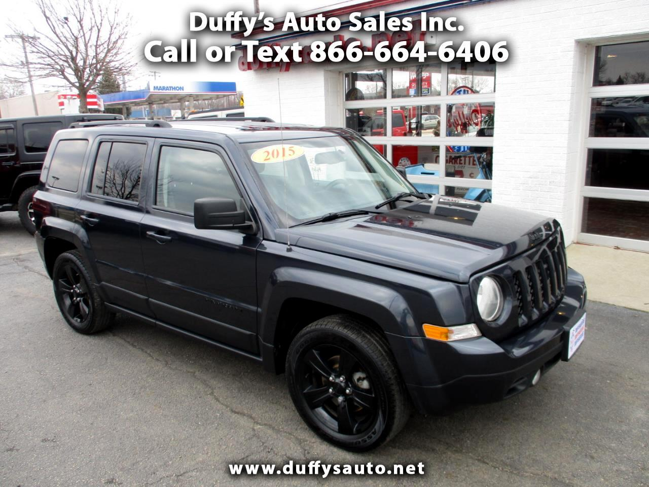 2015 Jeep Patriot FWD 4dr Altitude Edition