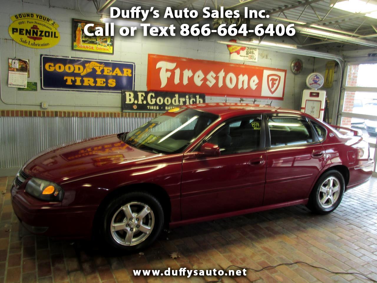 2005 Chevrolet Impala 4dr Sdn LS