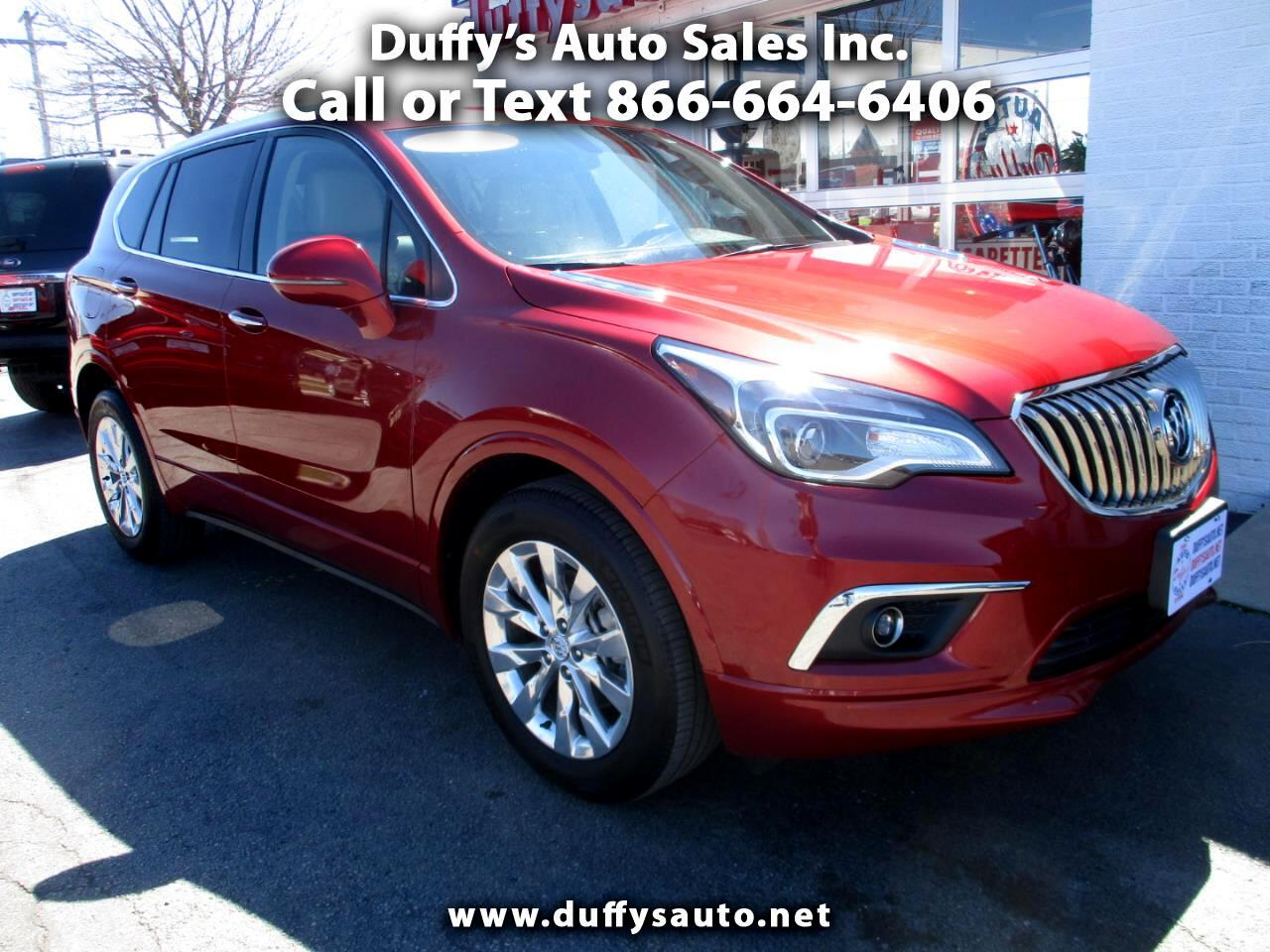 2018 Buick Envision AWD 4dr Essence