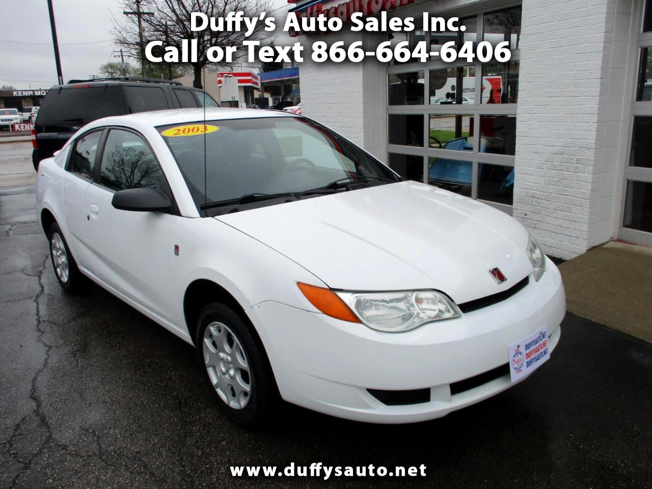 2003 Saturn ION ION 2 Quad Cpe Auto