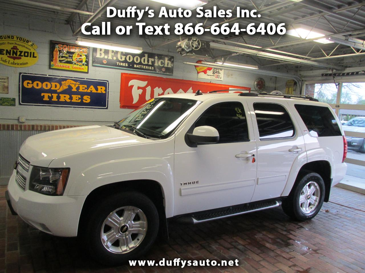 2013 Chevrolet Tahoe 4WD 4dr LT Z71 PACKAGE