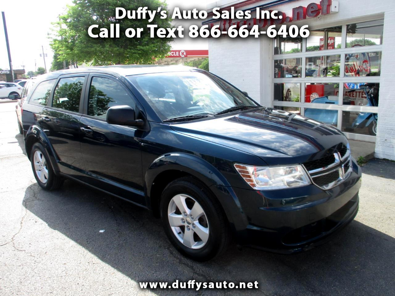Dodge Journey FWD 4dr American Value Pkg 2013
