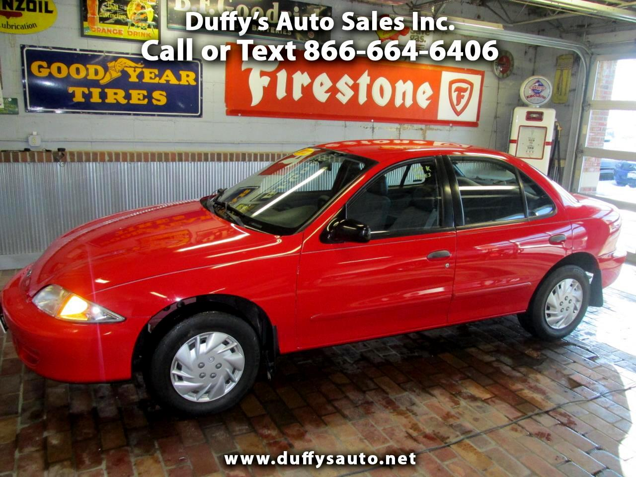 Chevrolet Cavalier 4dr Sdn 2000