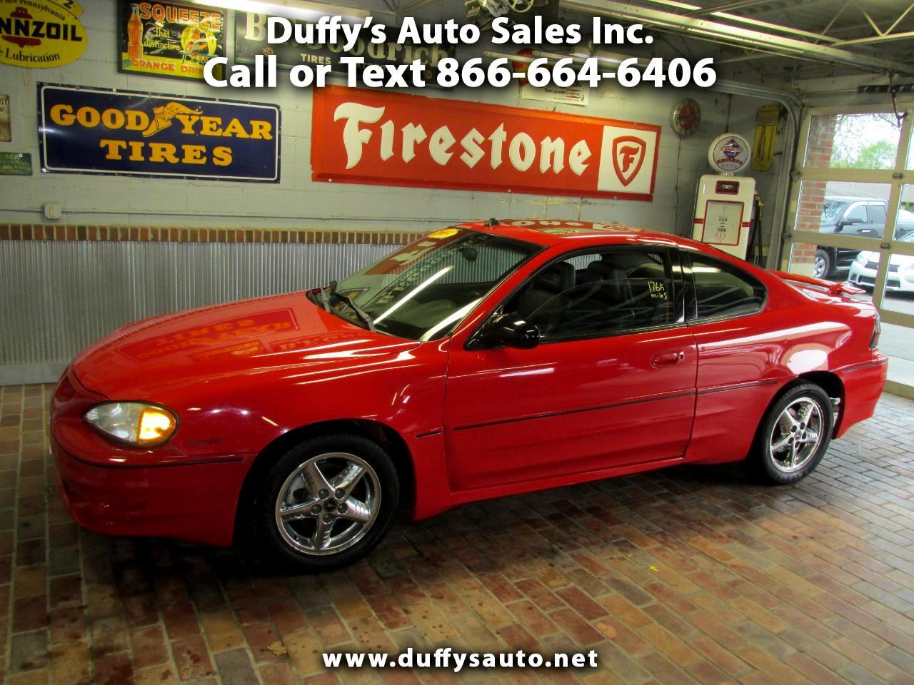 2003 Pontiac Grand Am 2dr Cpe GT1