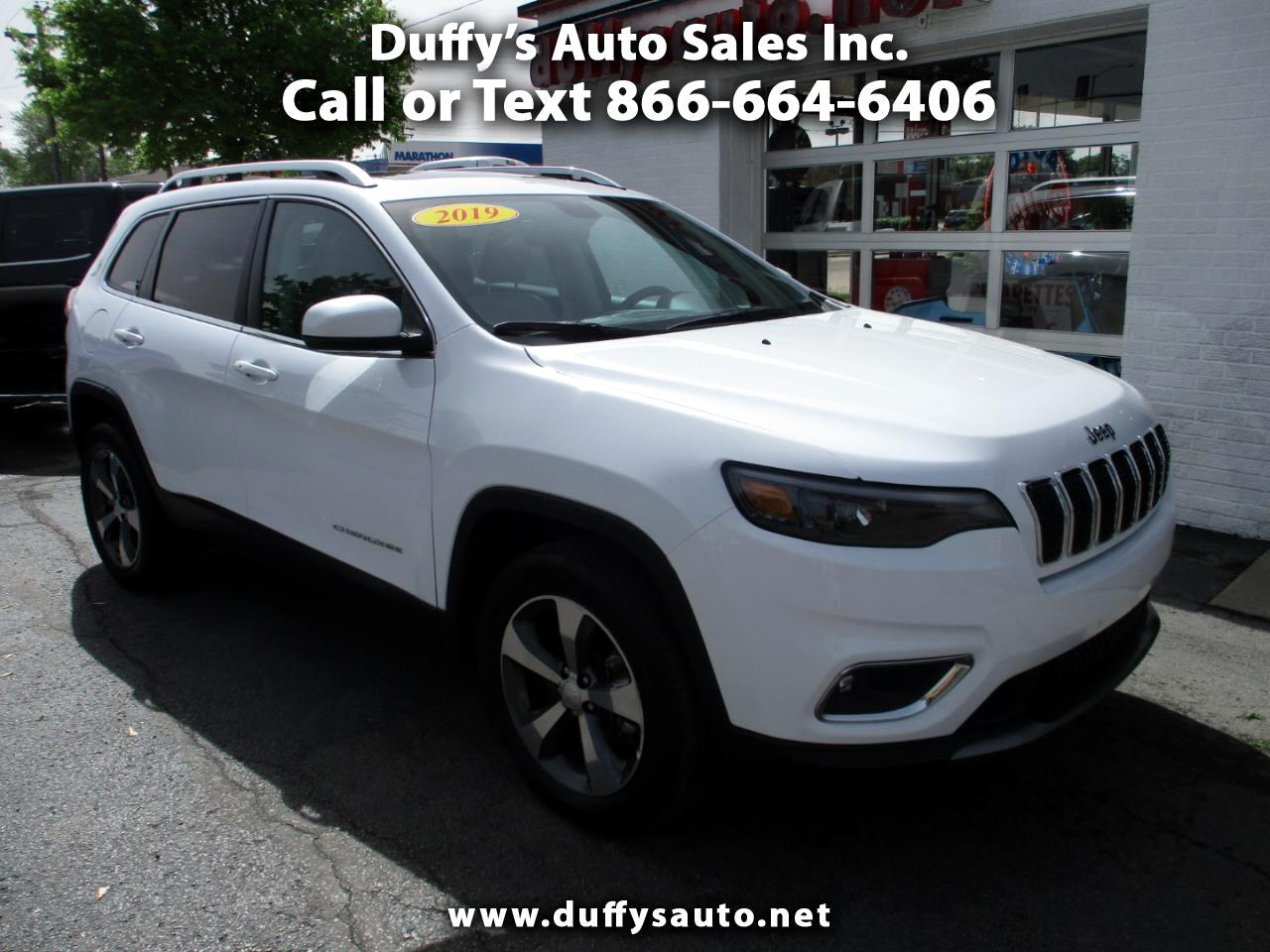 2019 Jeep Cherokee Limited 4x4