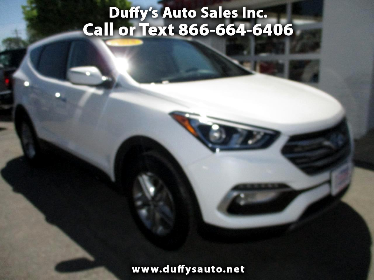 2018 Hyundai Santa Fe Sport 2.4L Auto