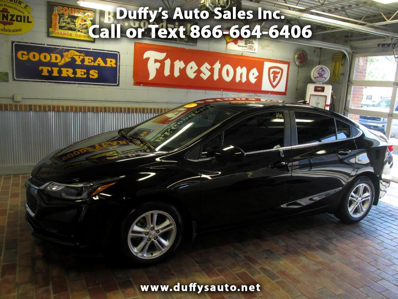 2017 Chevrolet Cruze 4dr Sdn 1.4L LT w/1SD