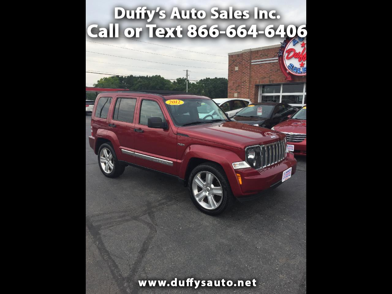 2012 Jeep Liberty 4WD Limited Jet Convertible