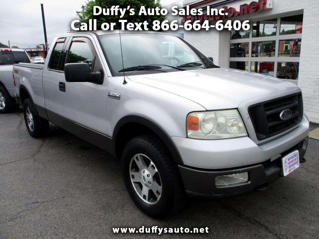 2004 Ford F-150 Supercab FX4 4WD