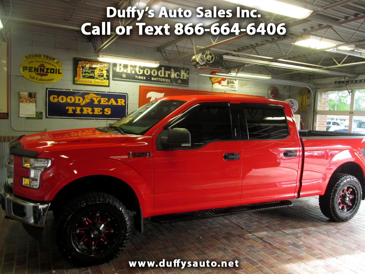 2017 Ford F-150 XLT 4WD SuperCrew 6.5' Box