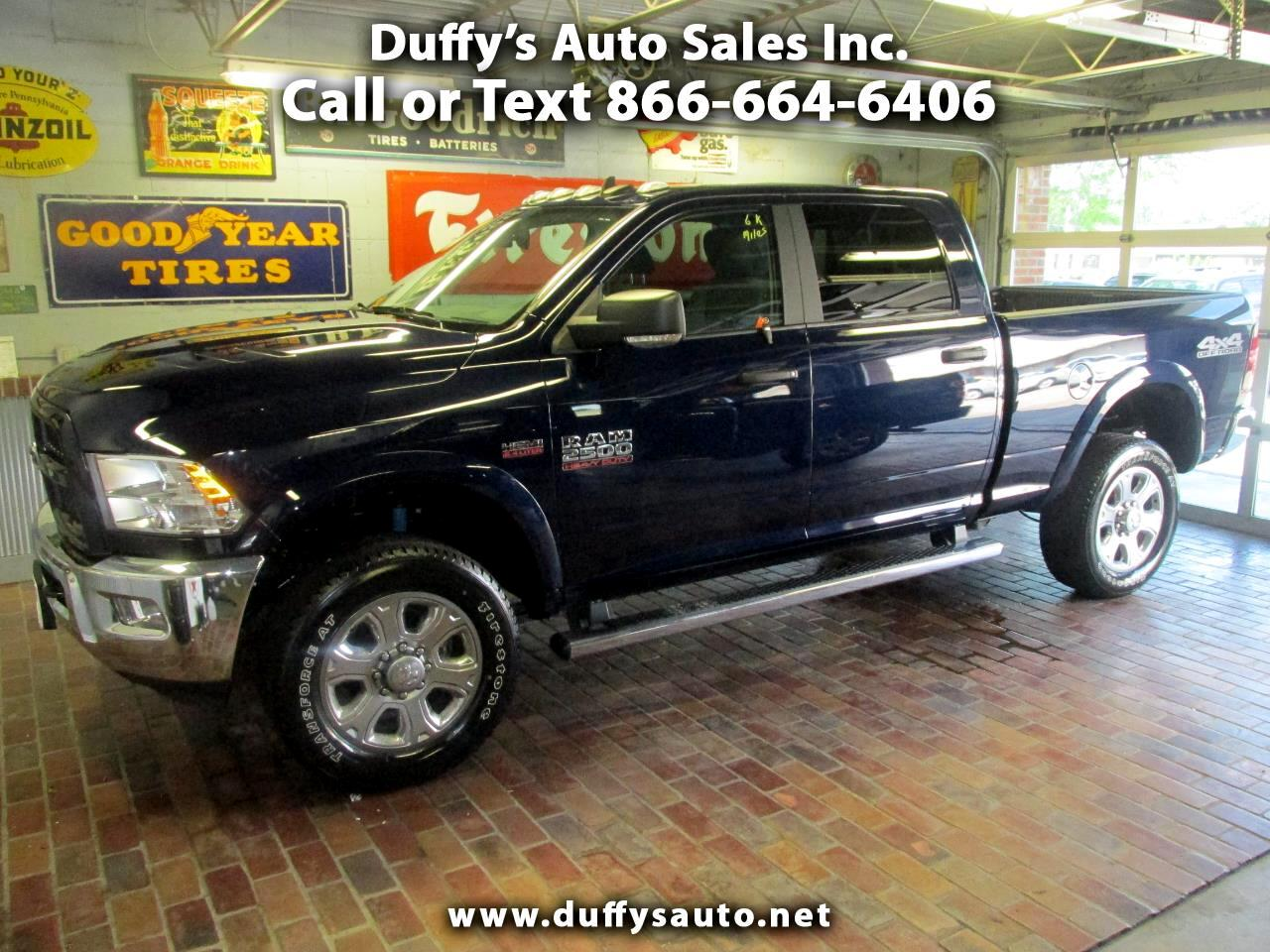 "2018 RAM 2500 Outdoorsman 4x4 Crew Cab 6'4"" Box"