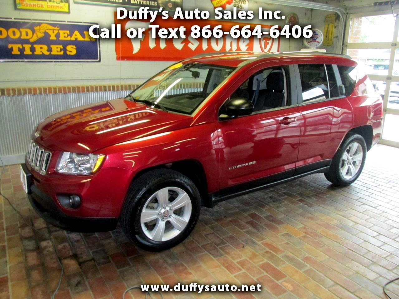 2012 Jeep Compass FWD 4dr Latitude