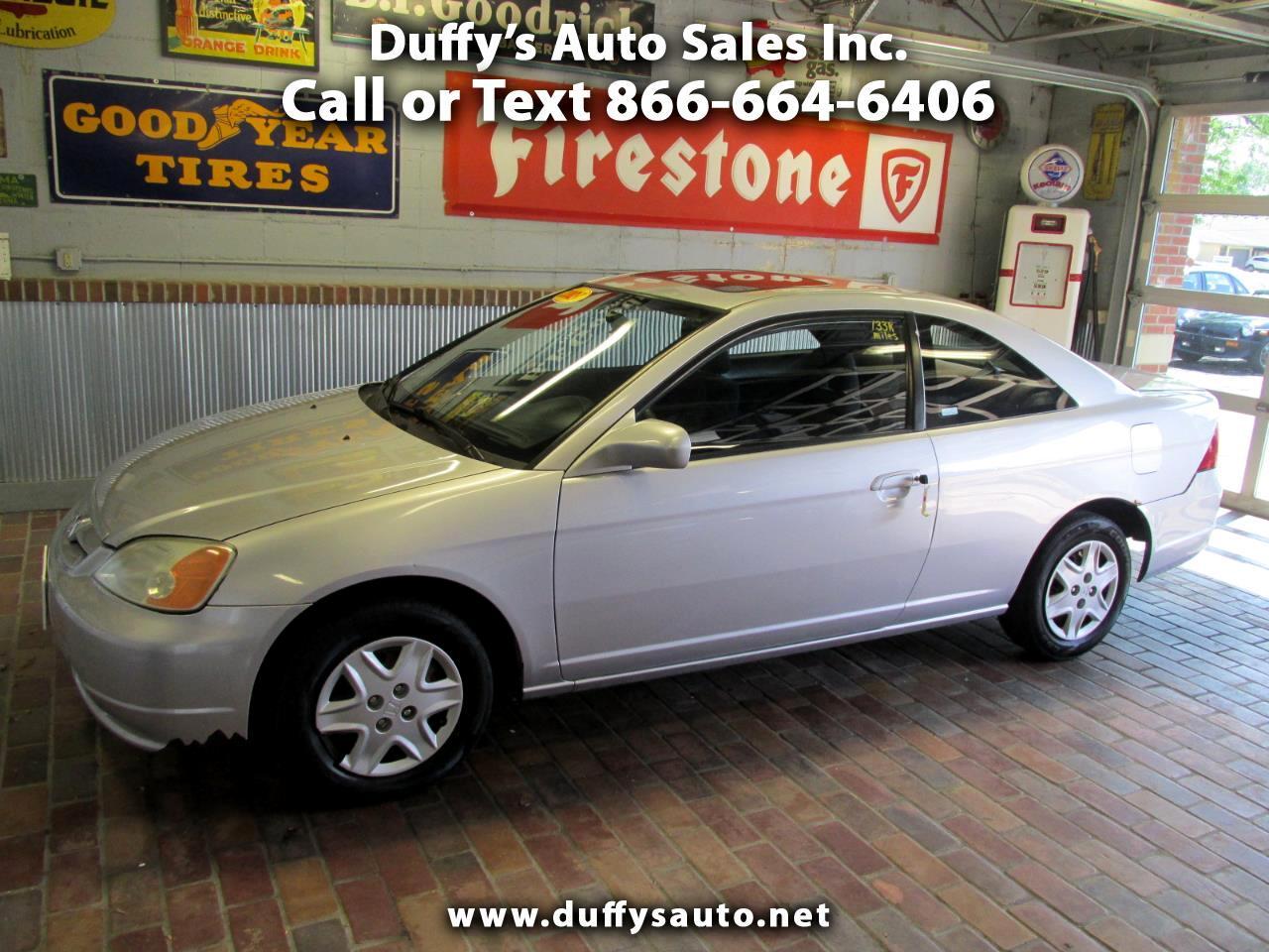 2003 Honda Civic 2dr Cpe EX Auto w/Side Airbags