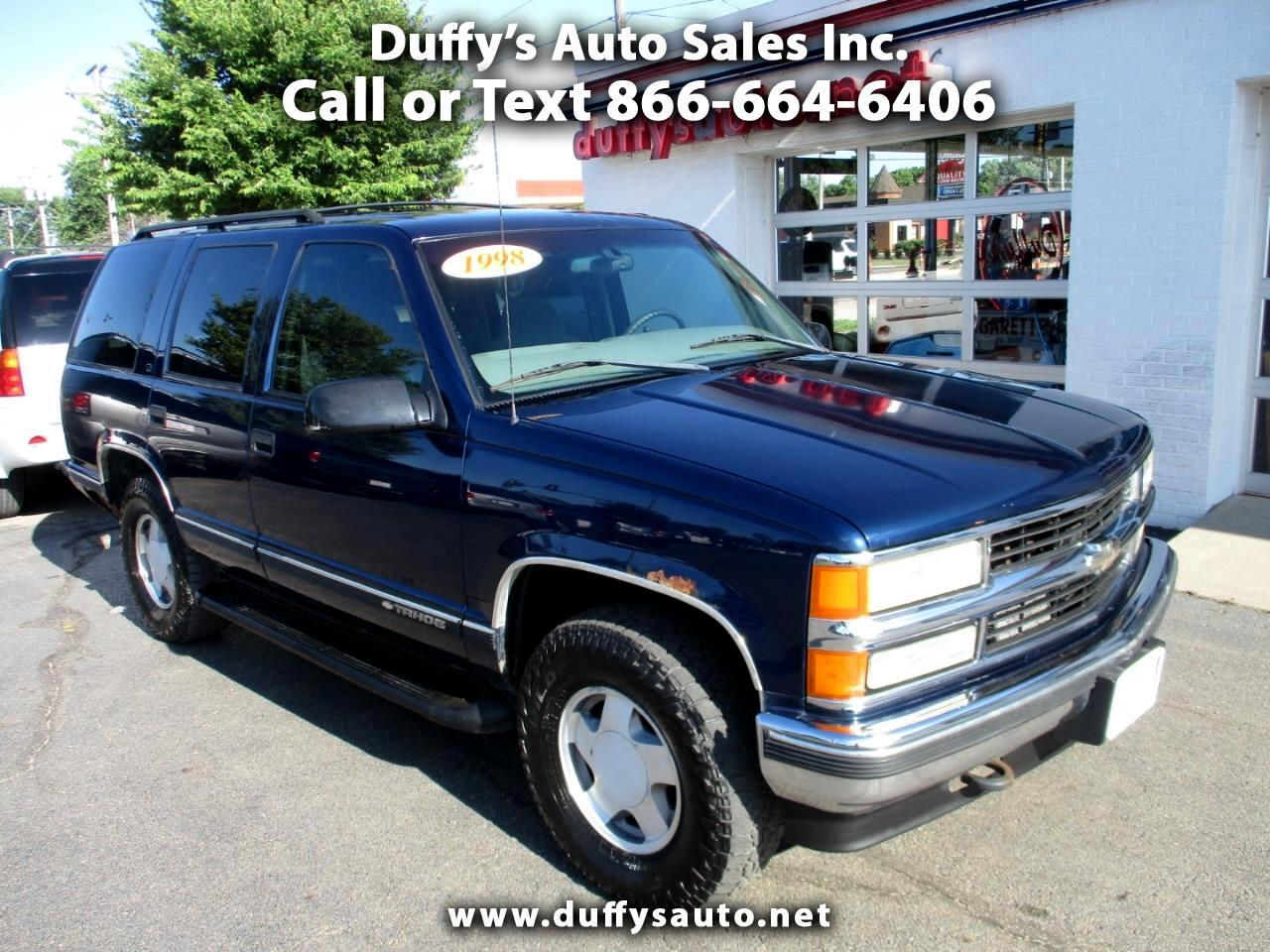 1998 Chevrolet Tahoe 1500 4dr 4WD