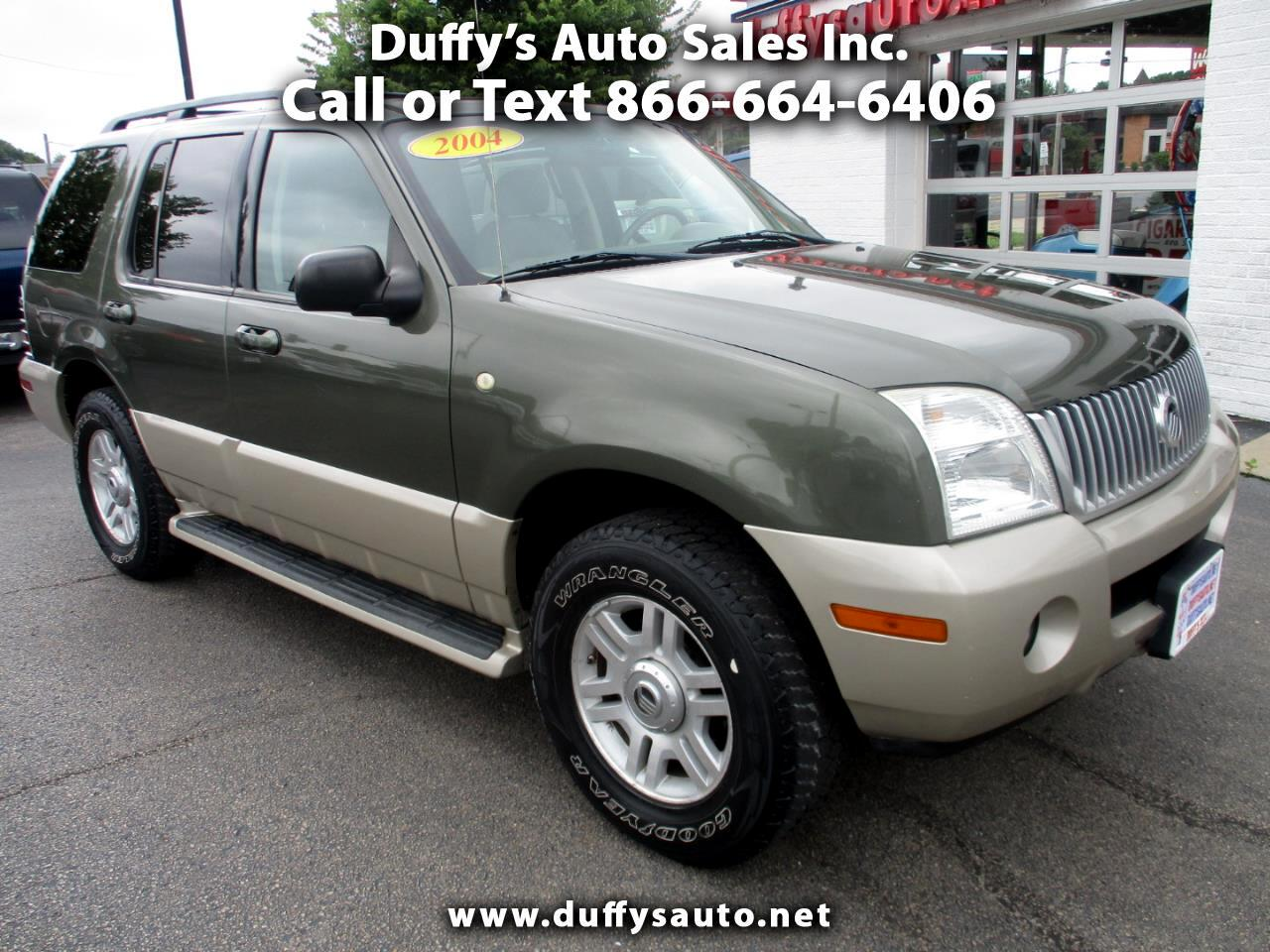 "Mercury Mountaineer 4dr 114"" WB Luxury AWD 2004"