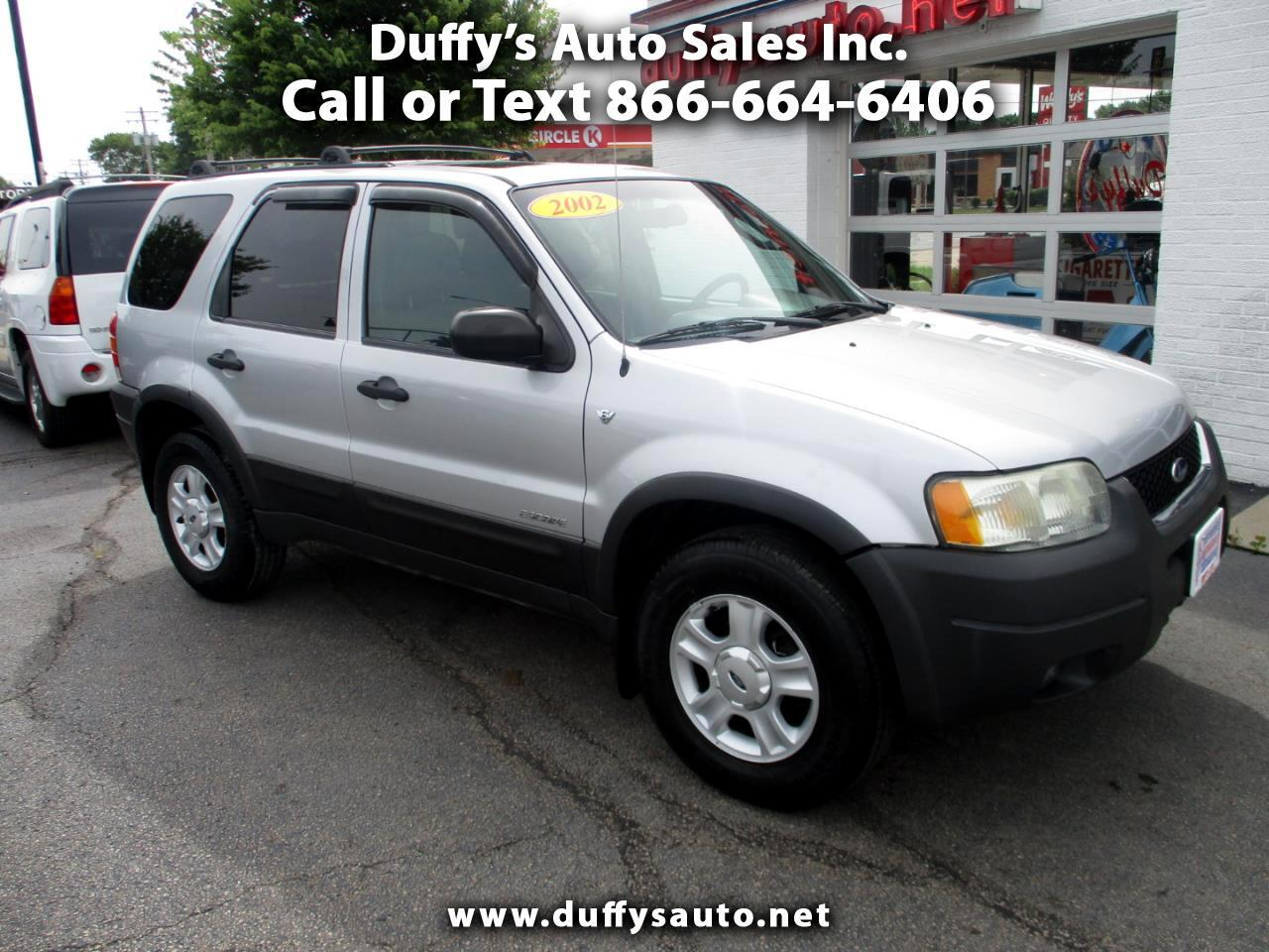 """2002 Ford Escape 4dr 103"""" WB XLT 4WD Sport"""
