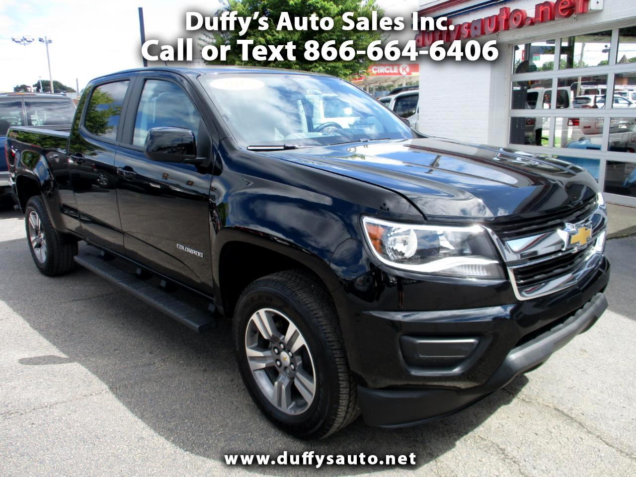 2018 Chevrolet Colorado 4WD Crew Cab LT
