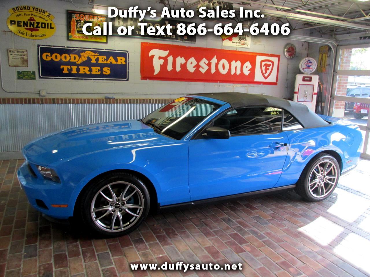 Ford Mustang 2dr Conv V6 2012