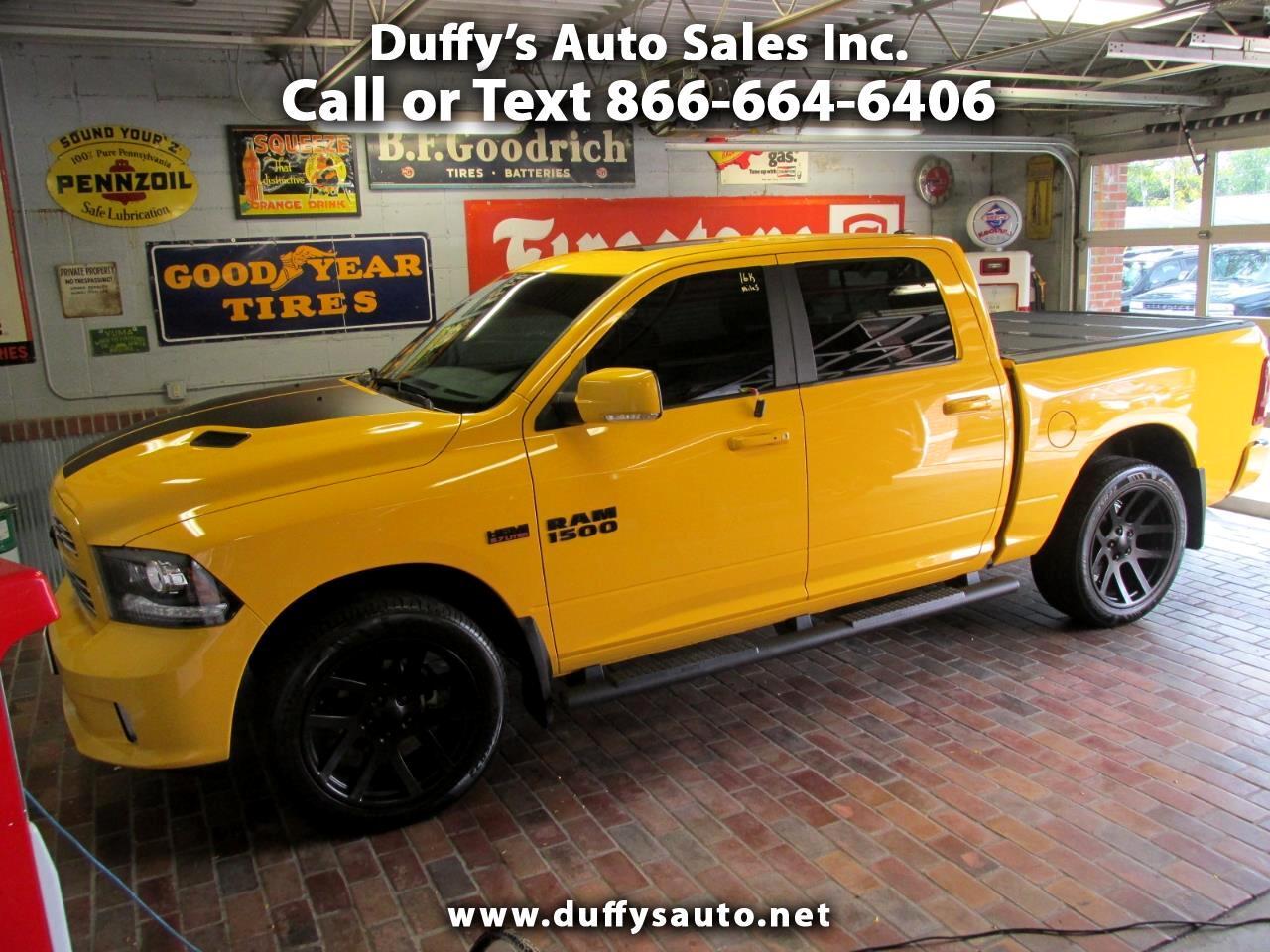 "2016 RAM 1500 4WD Crew Cab 140.5"" Sport"