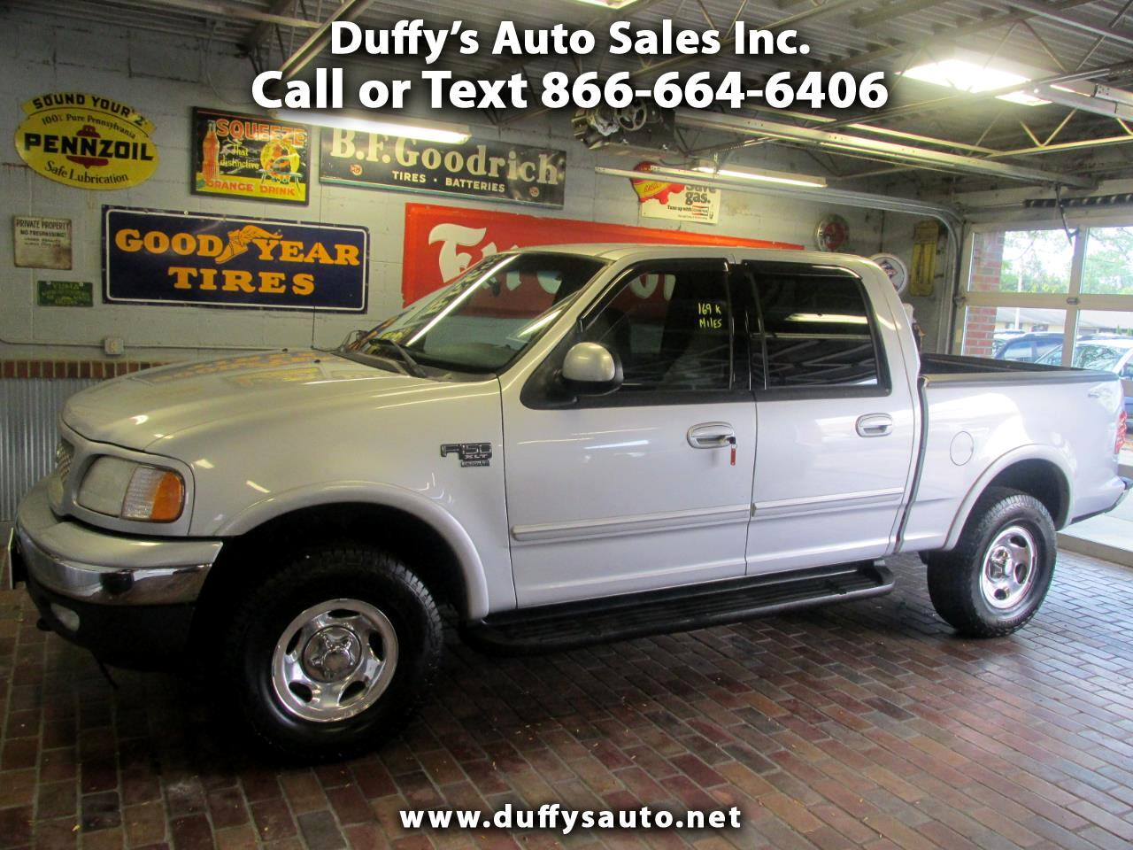 2001 Ford F 150 Supercrew Cab >> Used 2001 Ford F 150 Supercrew Crew Cab 139 Xlt 4wd For
