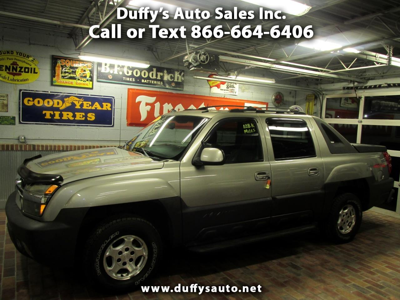 """Chevrolet Avalanche 1500 5dr Crew Cab 130"""" WB 4WD 2003"""