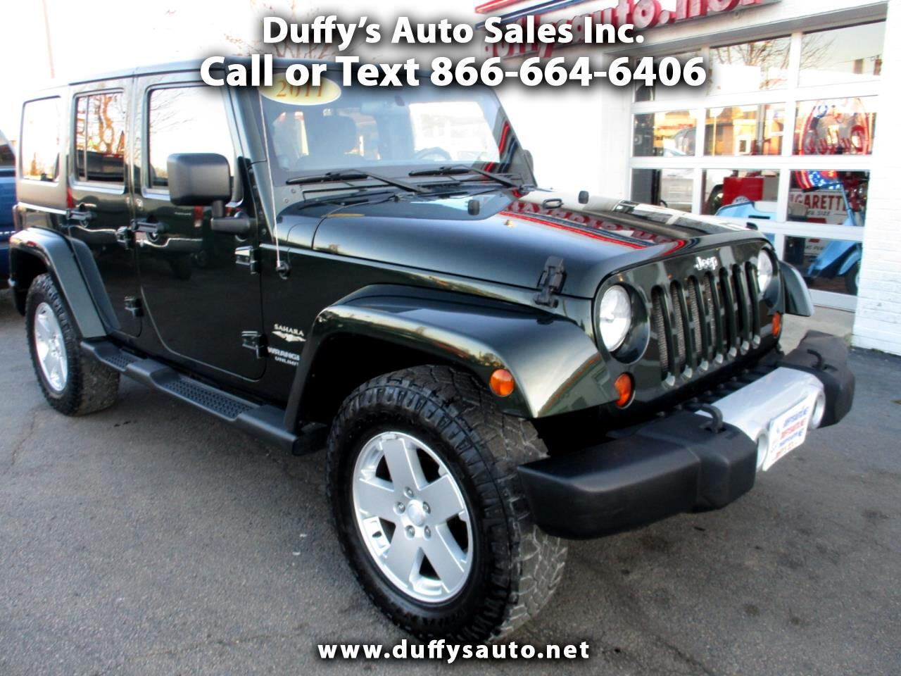 Jeep Wrangler Unlimited 4WD 4dr Sahara 2011