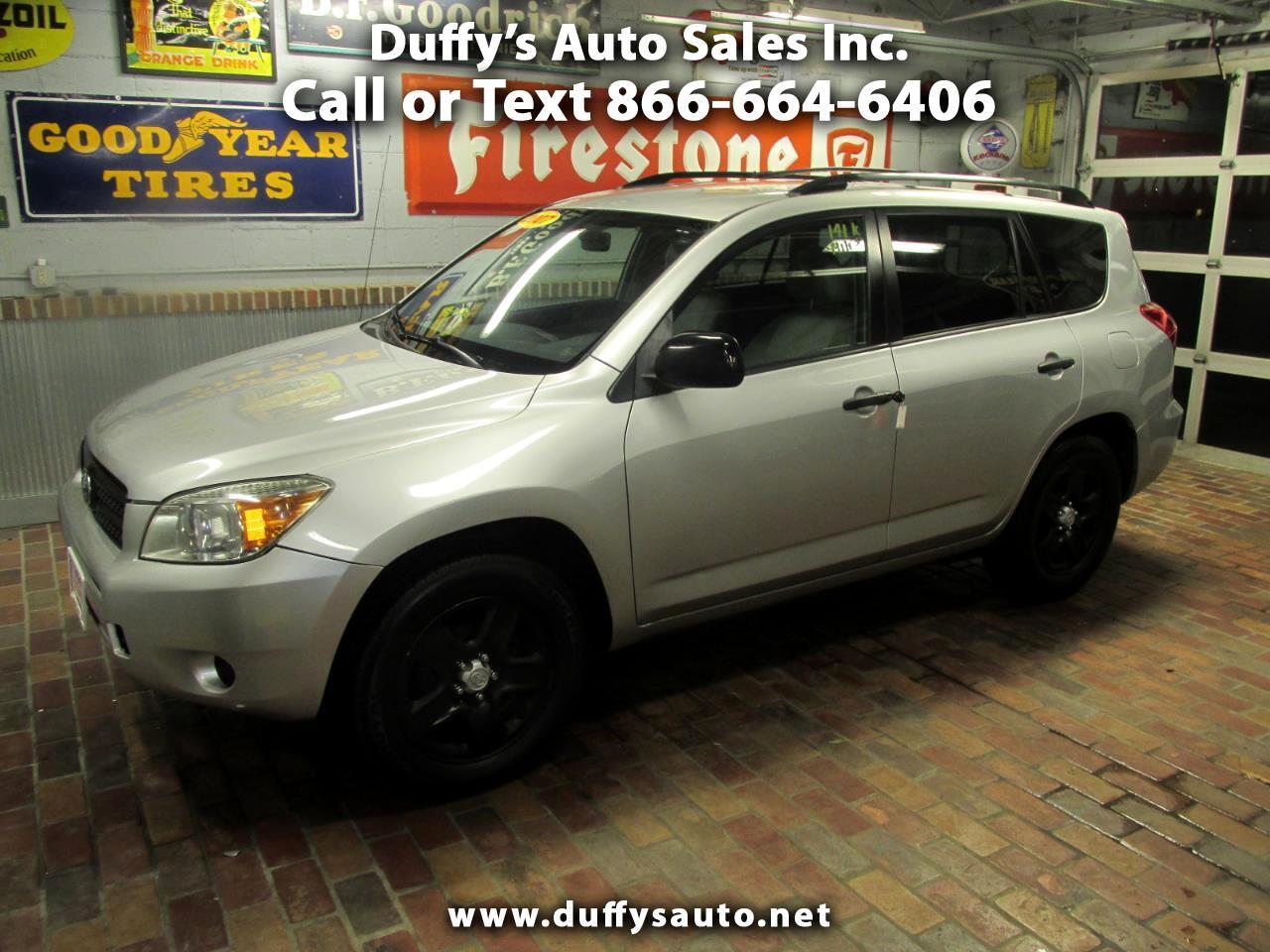 Toyota RAV4 4WD 4dr 4-cyl (Natl) 2007