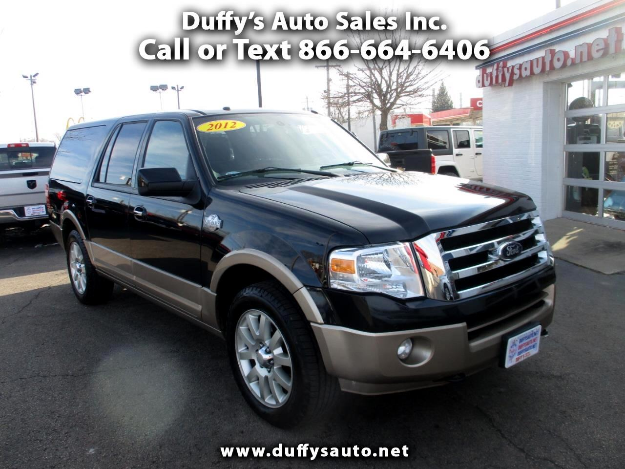 Ford Expedition EL 4WD 4dr King Ranch 2012