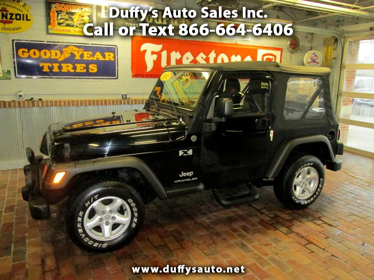 Jeep Wrangler 2dr X 2005