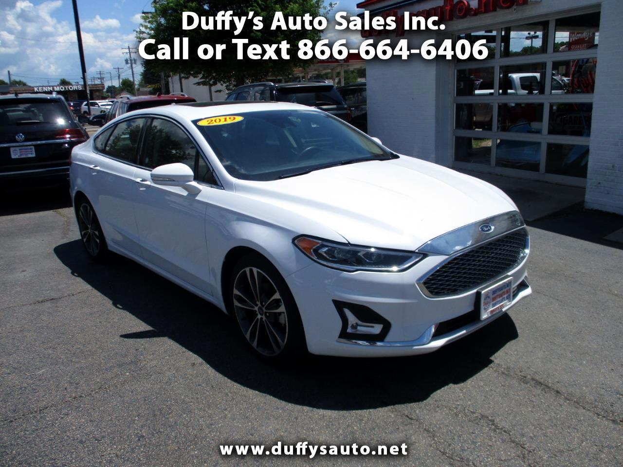 Ford Fusion Titanium AWD 2019