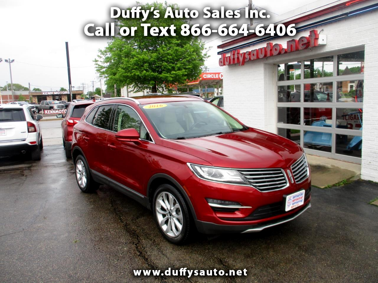 Lincoln MKC FWD 4dr Select 2016
