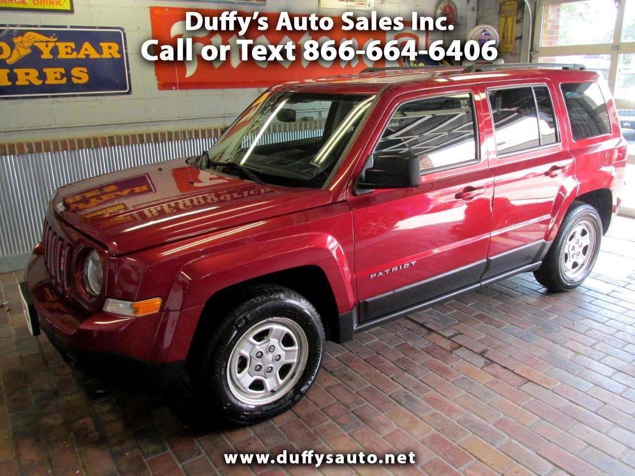 Used 2016 Jeep Patriot Fwd 4dr Sport For Sale In Peru Il 61354 Duffy S Auto Sales Inc