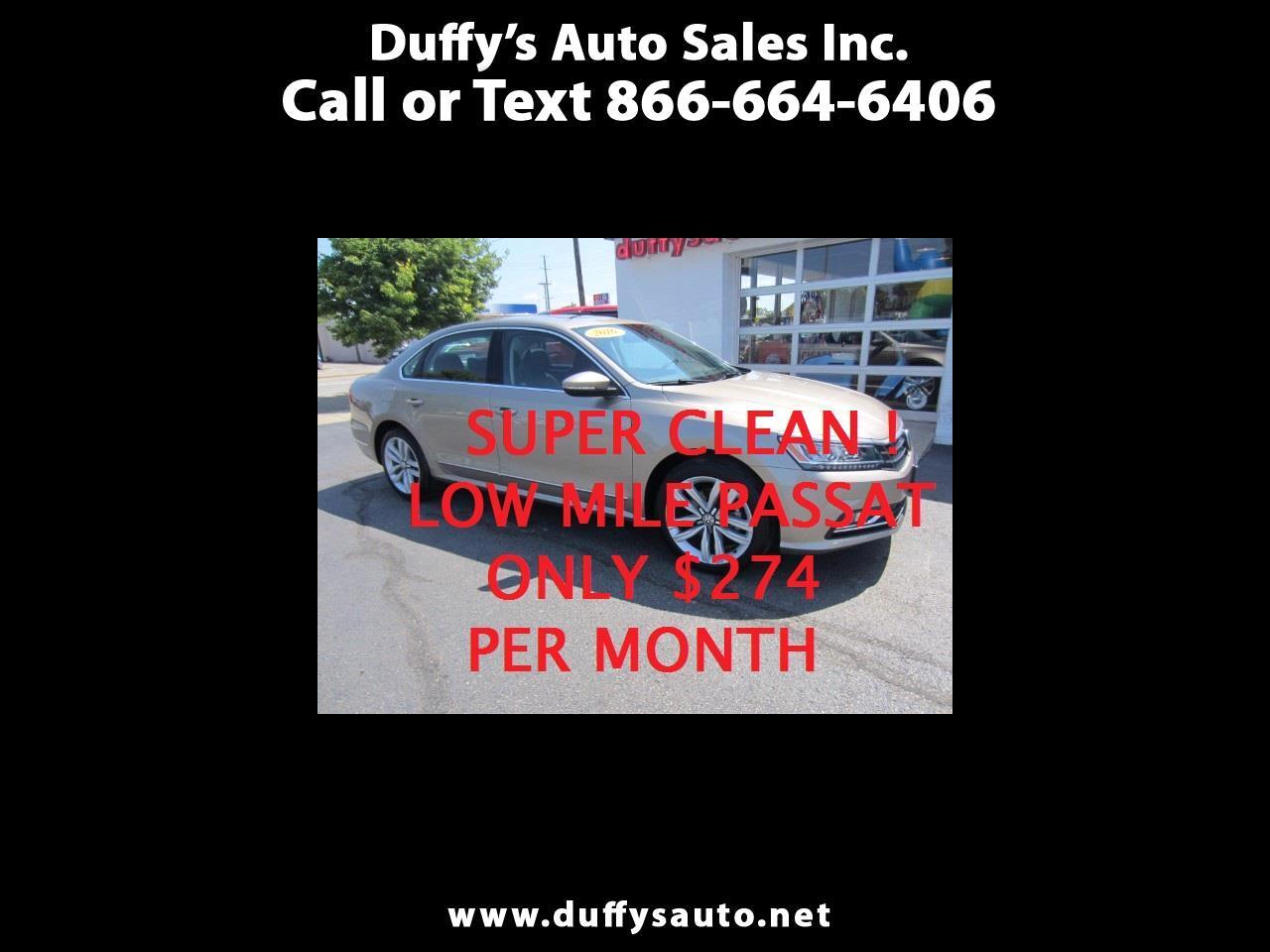 2016 Volkswagen Passat SEL Premium