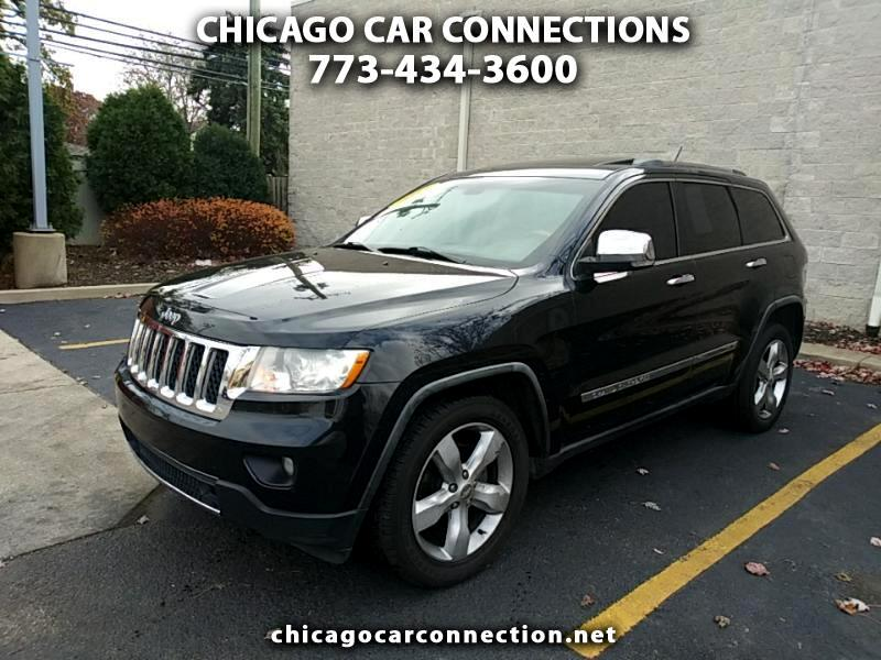 2011 Jeep Grand Cherokee 4dr Overland