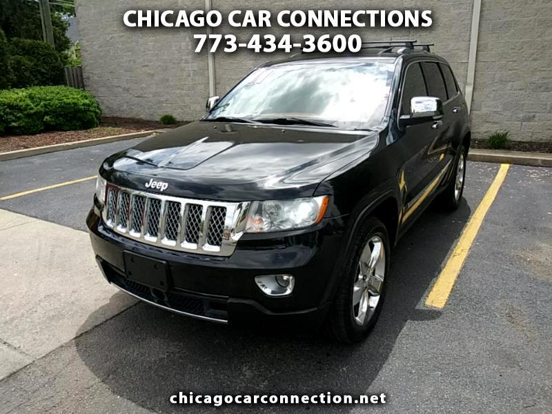 Jeep Grand Cherokee 4dr Overland 4WD 2011