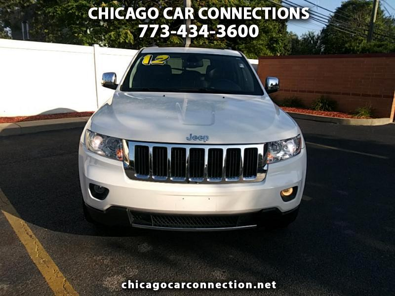Jeep Grand Cherokee 4dr Limited 2012