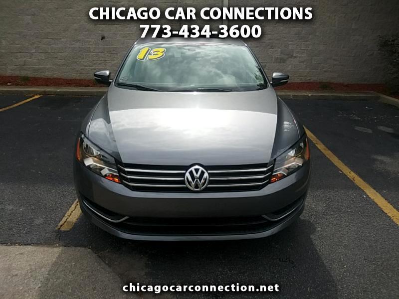 Volkswagen Passat Sedan 4dr Auto FWD 2013