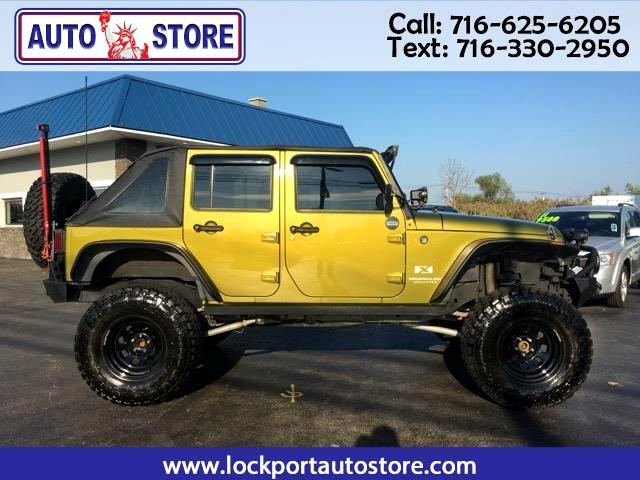 2008 Jeep Wrangler Unlimited 4WD 4dr X