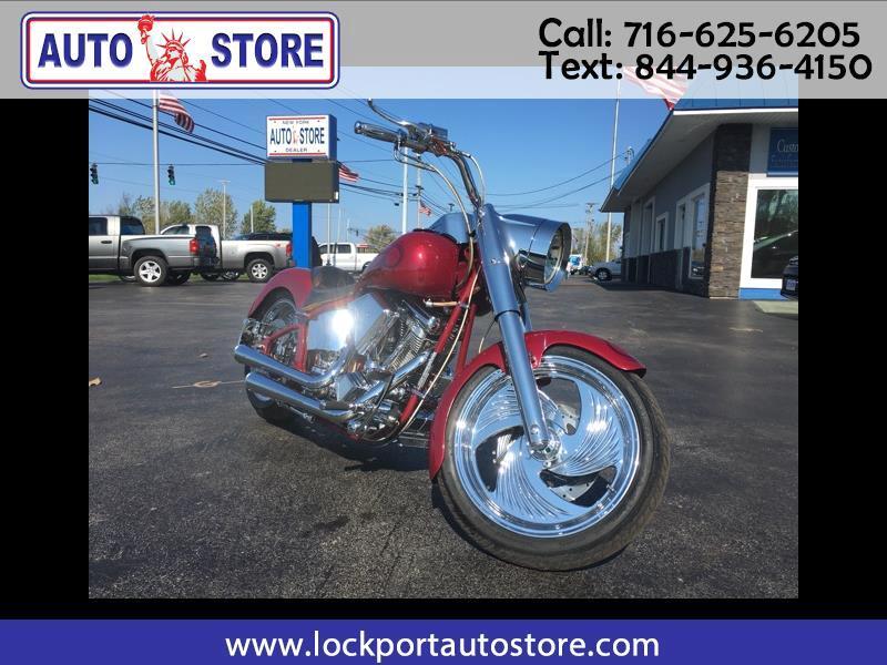 Custom Motorcycle Chopper  2002