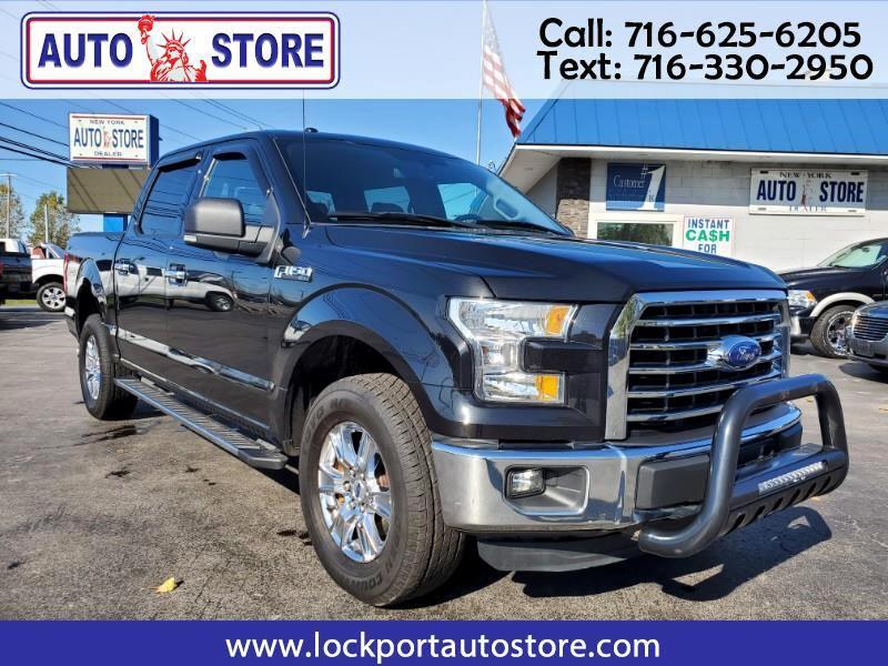 Ford F-150 XLT SuperCrew 4WD 2015