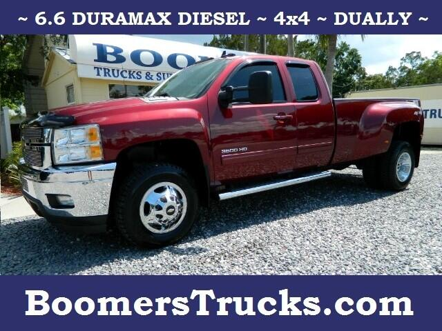2013 Chevrolet Silverado 3500HD LTZ Ext. Cab Long Box 4WD