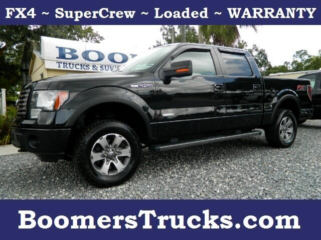 2012 Ford F-150 FX4 SuperCrew 5.5 ft Bed 4WD