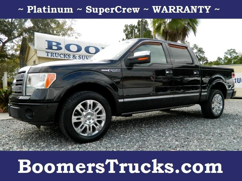 2010 Ford F-150 Platinum SuperCrew 2WD