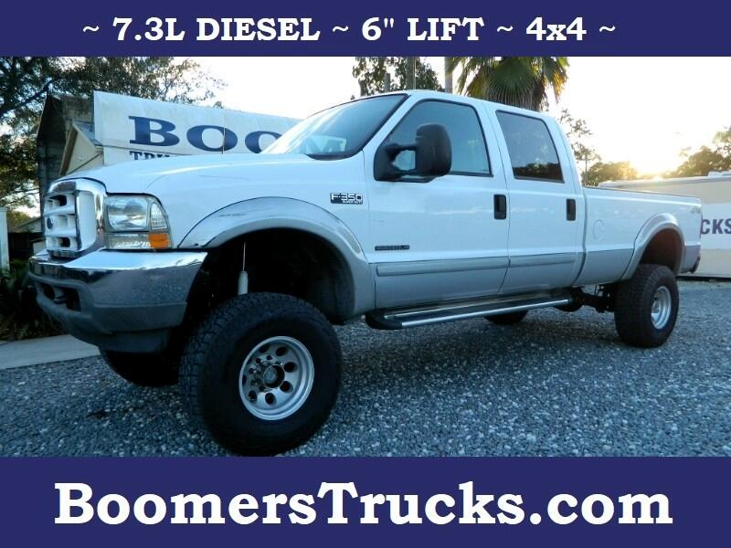 2003 Ford F-350 SD XLT Crew Cab Long Bed 4WD