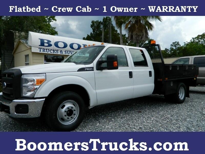 2014 Ford F-350 SD XL Crew Cab Long Bed DRW 2WD