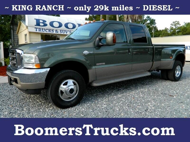 2004 Ford F-350 SD King Ranch Crew Cab 4WD DRW